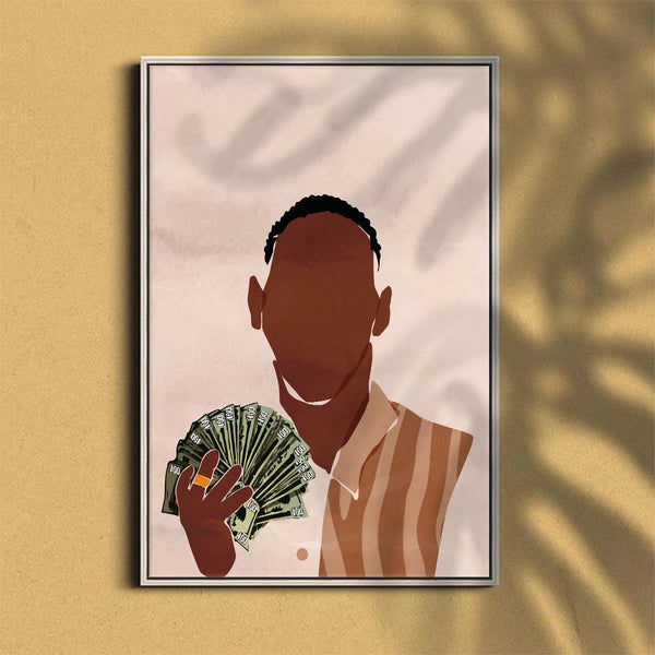 Money Canvas Art