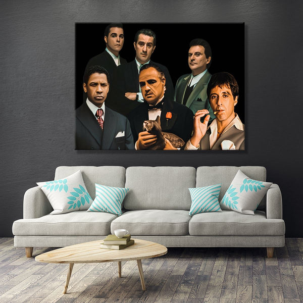 Gangster Canvas Art