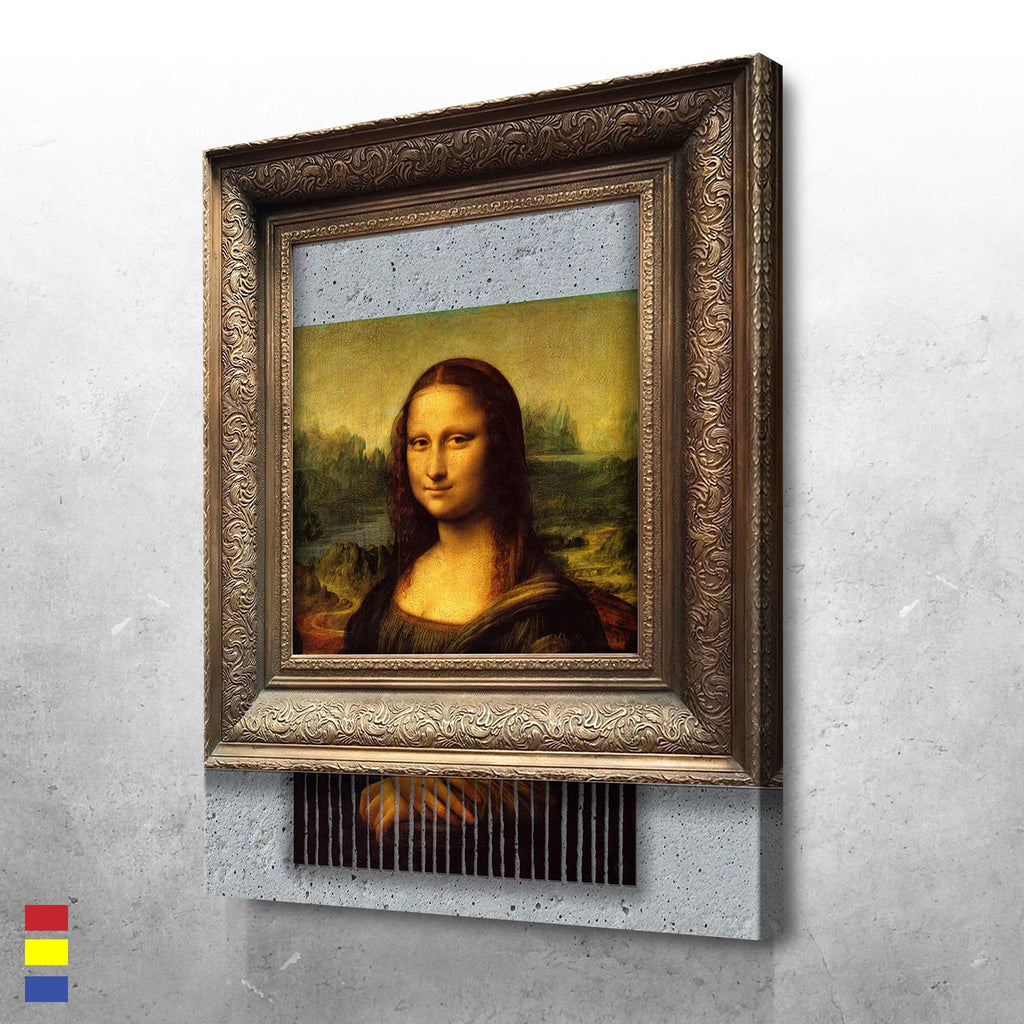 Shredded Mona Lisa