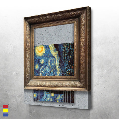 Shredded Starry Night