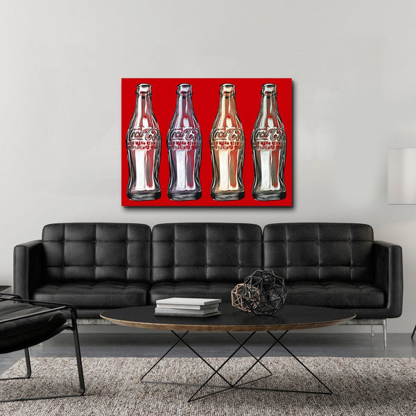 Empty Coke Bottles
