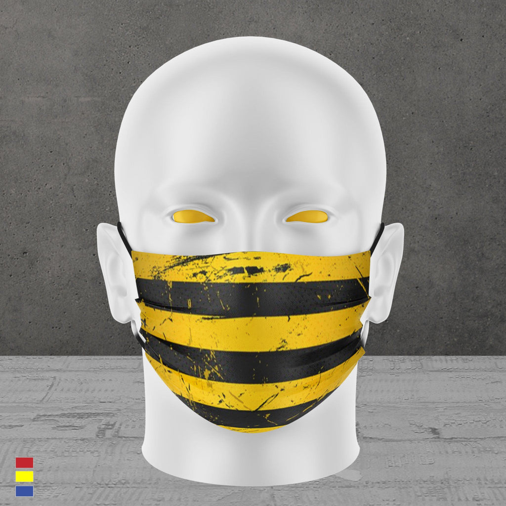 BUMBLE STRIPES FACE MASK