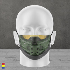 MASTER CHIEF FACE MASK