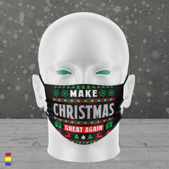 MAKE XMAS GREAT AGAIN FACE MASK