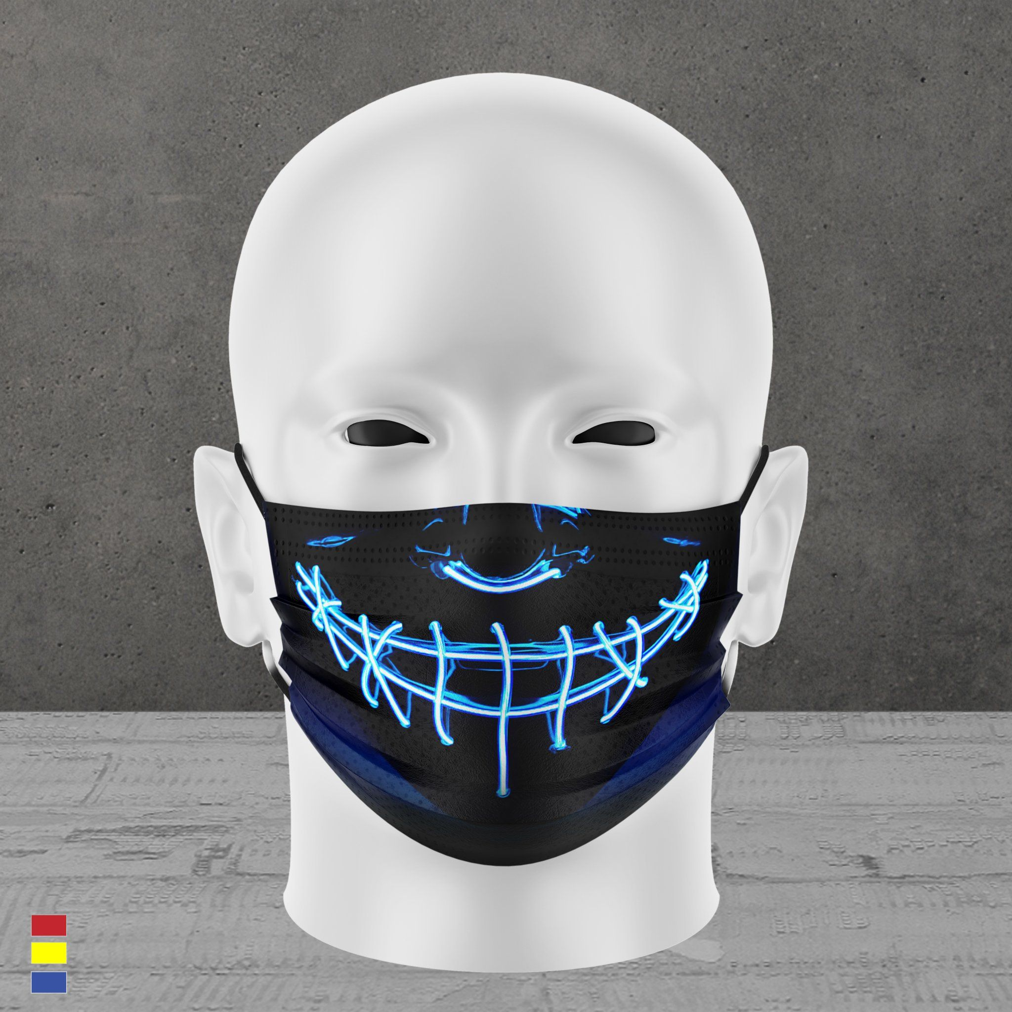 PURGE FACE MASK (blue)