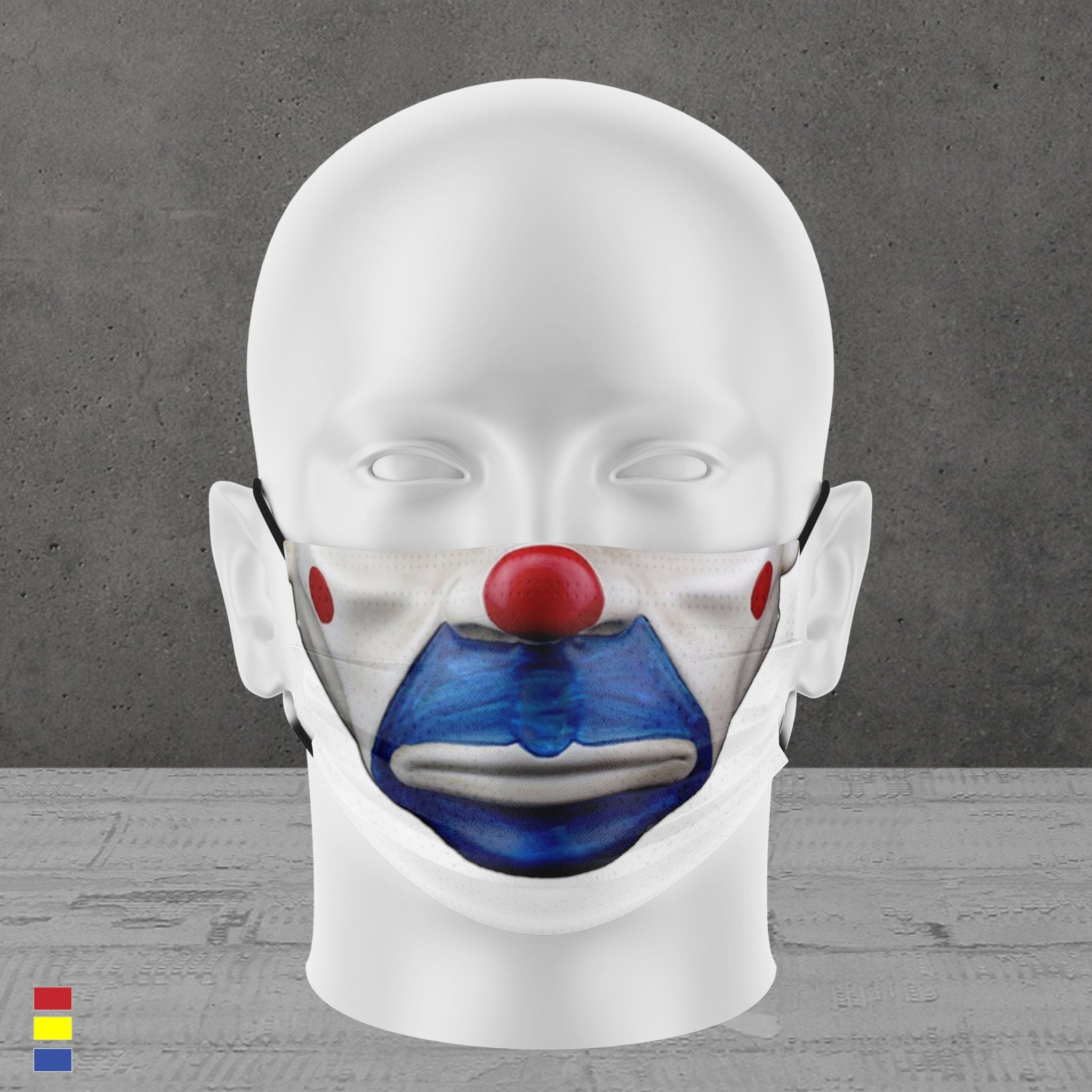THE CLOWN FACE MASK
