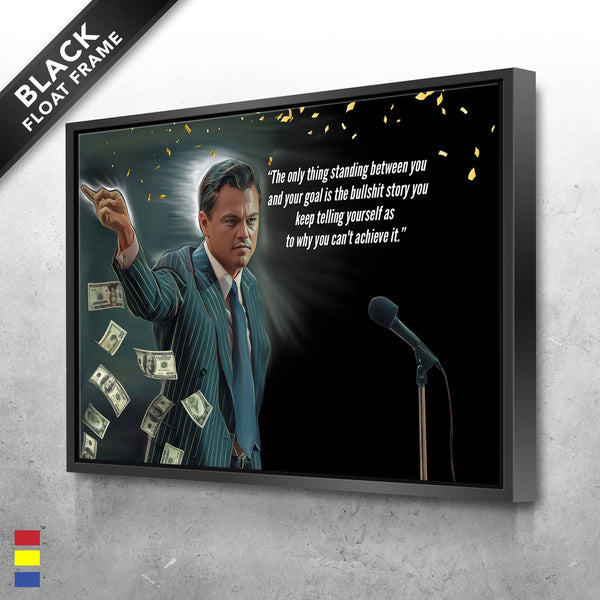 Wolf of Wall Street Canvas Prints