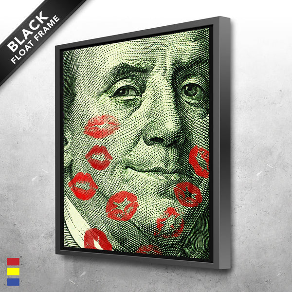 Money Canvas Prints