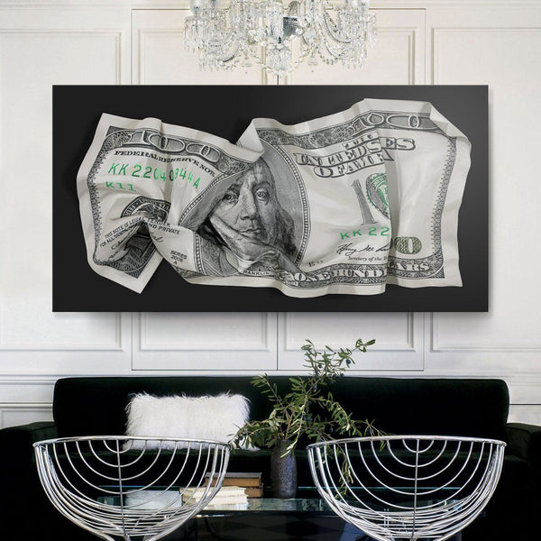 Money Art For The Wall