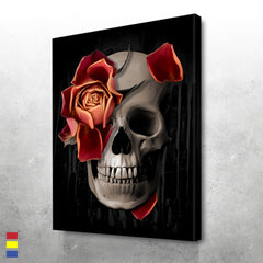 A Rose on the Skull