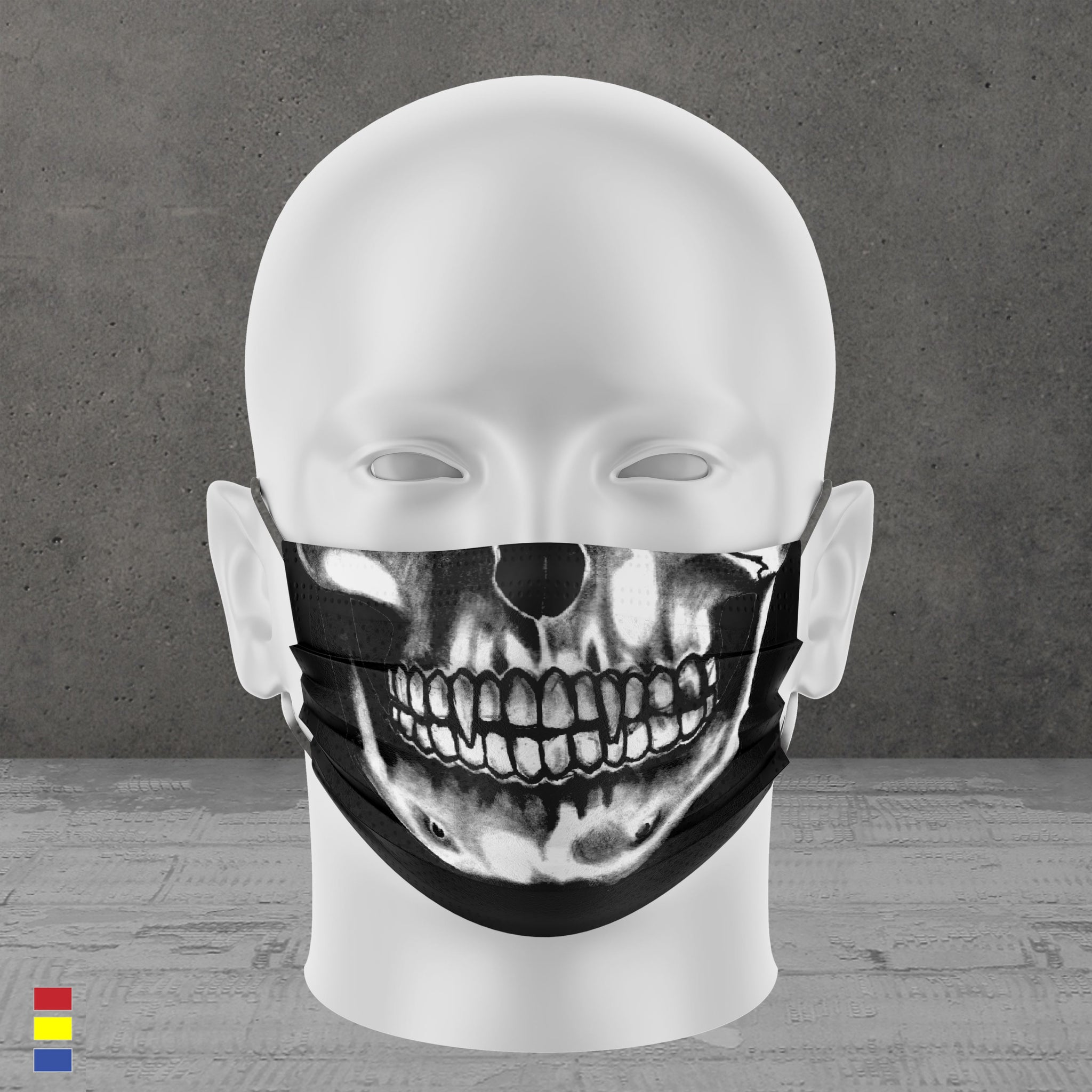 X Ray Face Mask (White)