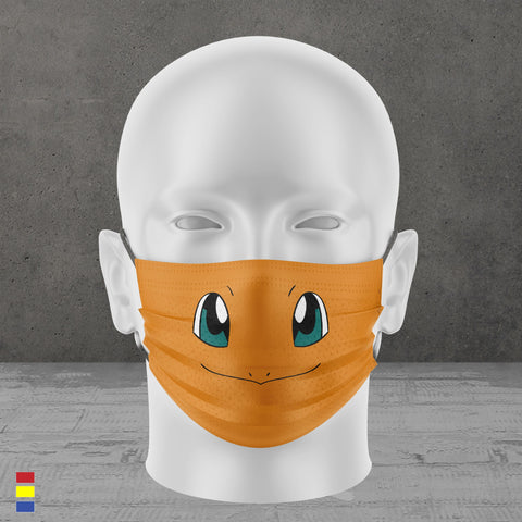 Fire Type Face Mask