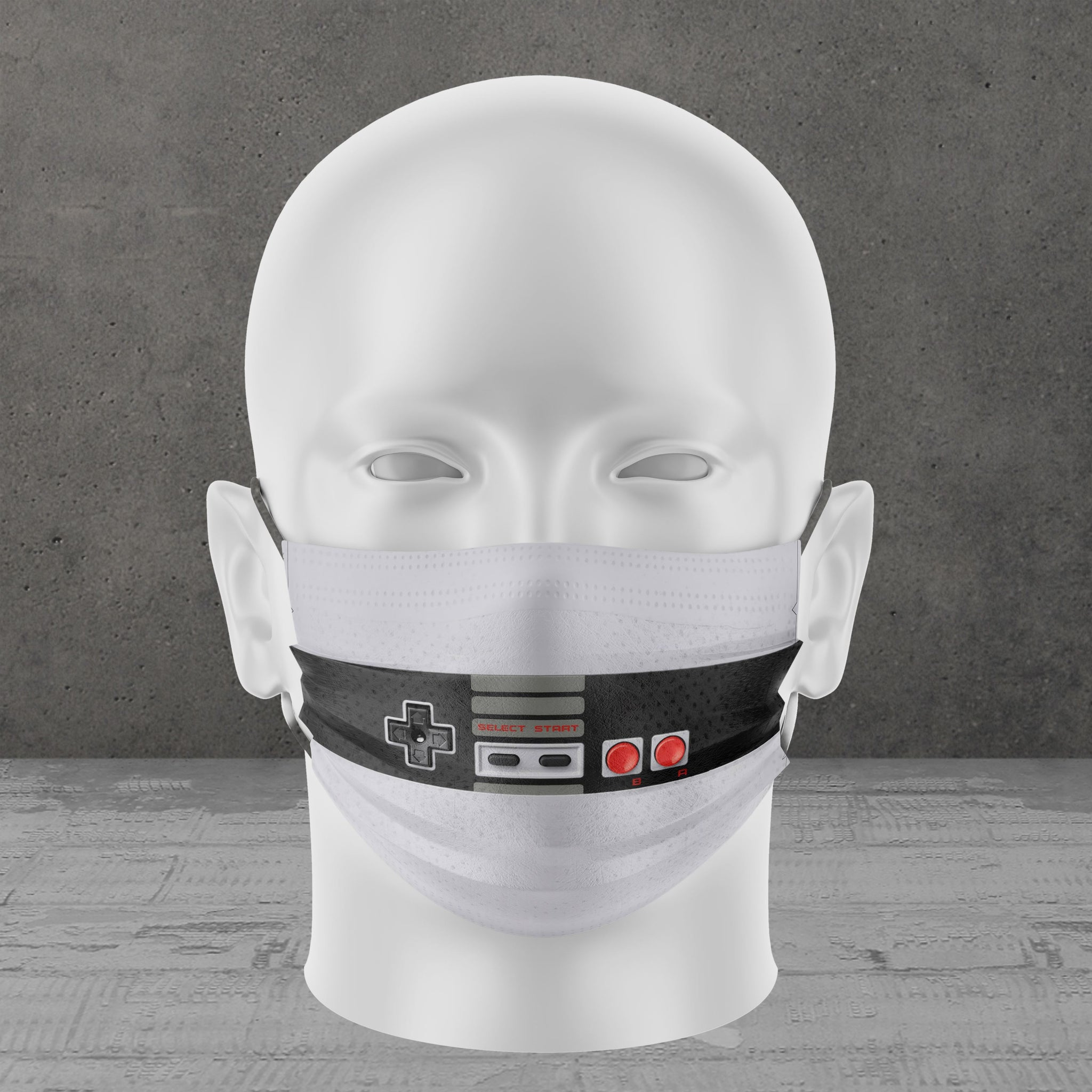 Player 1 Face Mask