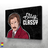 Shop For Ron Burgundy Prints