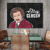 Ron Burgundy Art For The Wall