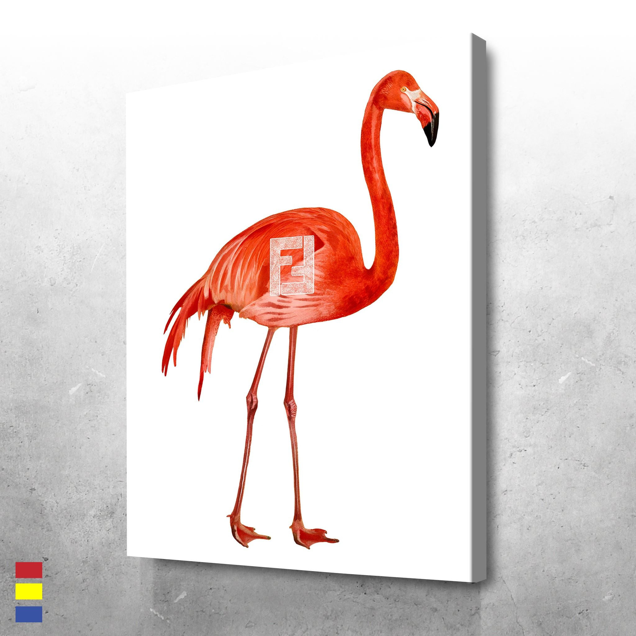 Fendi Flamingo