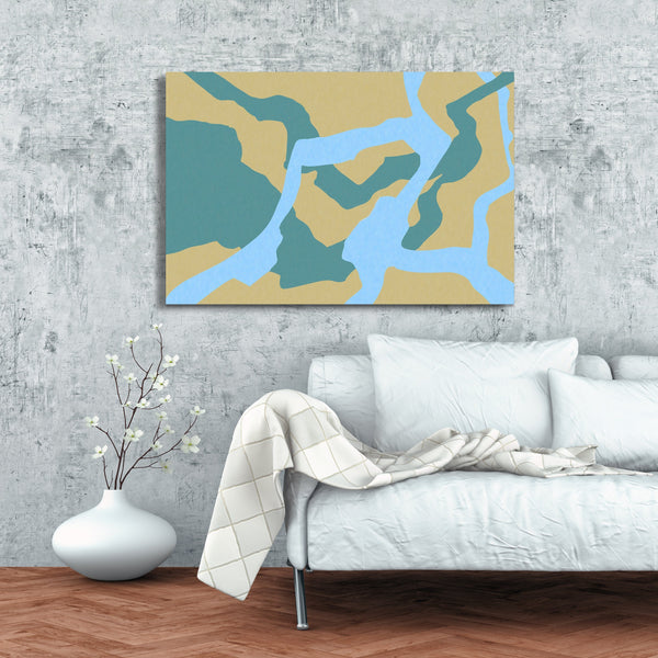 Camouflage Canvas Art