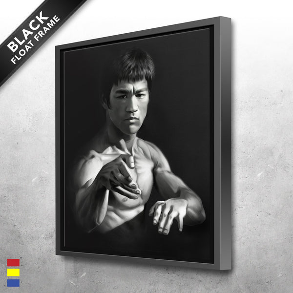 Bruce Lee Canvas Prints