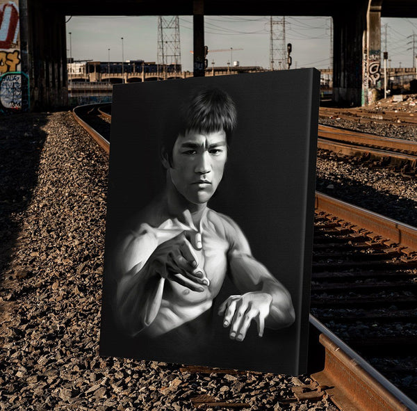 Bruce Lee Art For The Wall