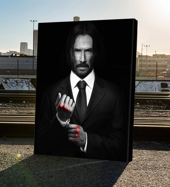 John Wick Art For The Wal
