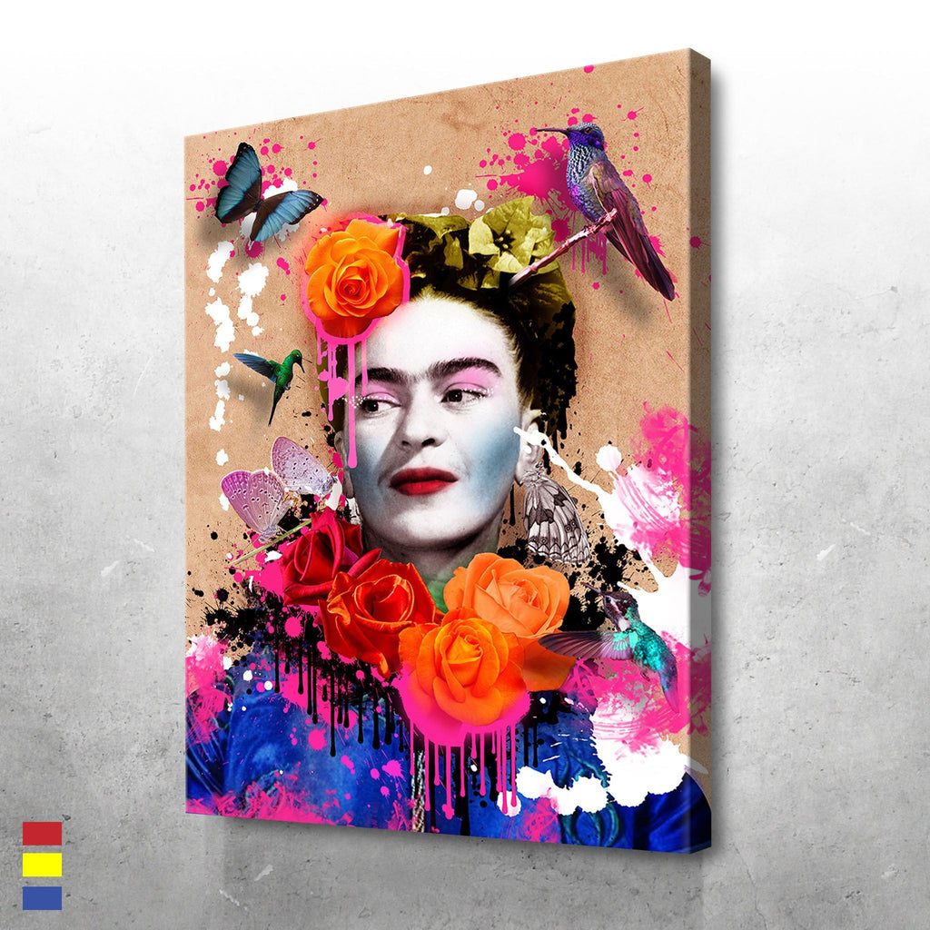 Frida and Flowers