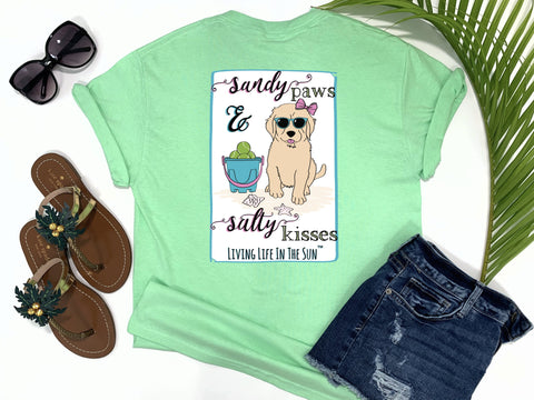 living life in the sun, beach tees, nursing tees, coastal preppy fashion, Florida boutique