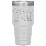 double wall insulated tumblers - registered nurse gifts - Nurse Fuel - living life in scrubs