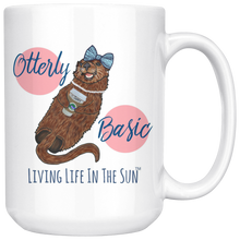 Sea Otter Mug, Mug With Saying, PSL, Otterly Basic, Basic Mug, PSL Mug, Pumpkin Spice Mug, Fall Mug, Beach Mug, Preppy Mug, Southern, Coffee