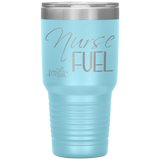 coffee mug - NP Gifts - Nurse Fuel - living life in scrubs