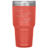 vacuum insulated tumblers - healthcare gifts - i don't remember signing up for this - living life in scrubs