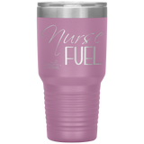 Living Life In Scrubs - Nurse Fuel - Stainless Steel Insulated Tumbler - Living Life In The Sun - 30 oz - Nurse Tumbler - Coffee Water Alcohol Tumbler - Powder Coated - Nurse Gift