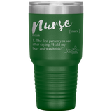 coffee mug - NP gifts - nurse definition - hold my beer and watch this - living life in scrubs