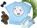 simply southern style - this is my jam - jellyfish shirt - jellyfish dancing to music from a retro 80's boombox - blue t-shirt - coastal vacation gifts - living life in the sun