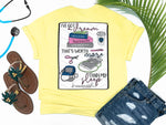 Southern Nurse Tees - Dream Worth More Than Sleep - Shirts With Sayings - Nursing Student T-Shirt - School Grad Gift - Stethoscope Coffee Books Shirt - Future RN LPN Top - Womens Clothes - Simply a yellow Graphic tee - living life in scrubs