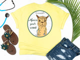 Southern Nurse Tees - Living Life In Scrubs - Alpaca Your Wound - Shirts With Sayings - LLAma T-Shirt - RN Comfort Wear - Preppy LPN Medical Top - Nursing Student Grad Gift - Cute Women Animal Shirt - Simply a yellow graphic Tee