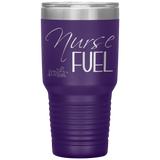 insulated tumblers - nurse grad gifts - Nurse Fuel - living life in scrubs
