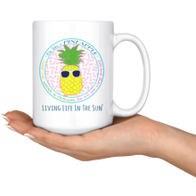 Be Like A Pineapple, Preppy, Mug With Saying, Pineapple Mug, Coffee Gift, Inspirational Coffee Mug, Southern Mug, Coffee Cup, Pineapple Gift