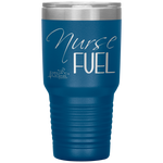 tumblers with sayings - RN Gifts - Nurse Fuel - living life in scrubs