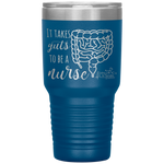 southern nurse tumblers - BSN Gifts - it takes guts to be a nurse - intestines anatomy cup - living life in scrubs