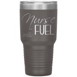 laser etched tumblers - nursing school cup - Nurse Fuel - living life in scrubs