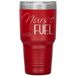 nursing student tumblers - nursing school graduation gift - Nurse Fuel - living life in scrubs