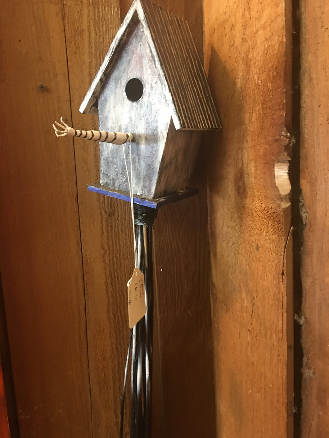 Indoor Bird House Sculpture