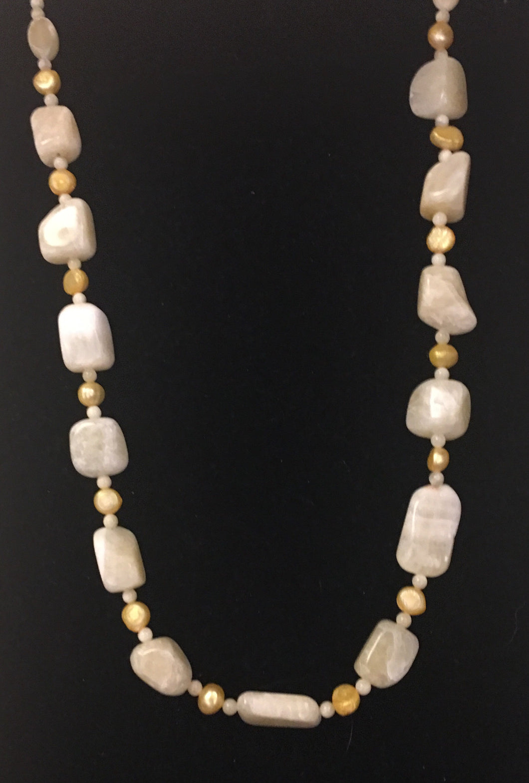 Calcite and Freshwater Pearls