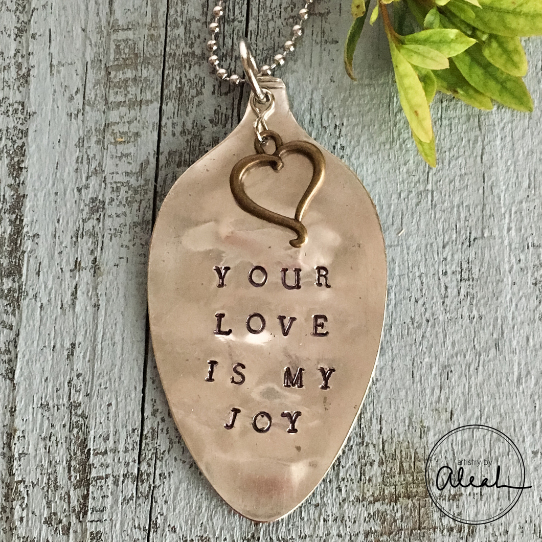 Your Love is my Joy Necklace