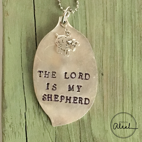 The Lord is My Shephard Necklace