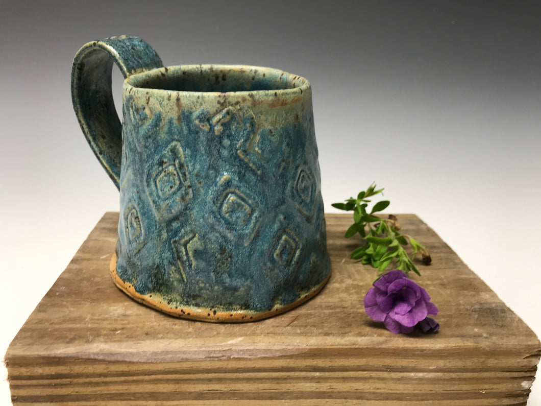 Antique Blue Mug