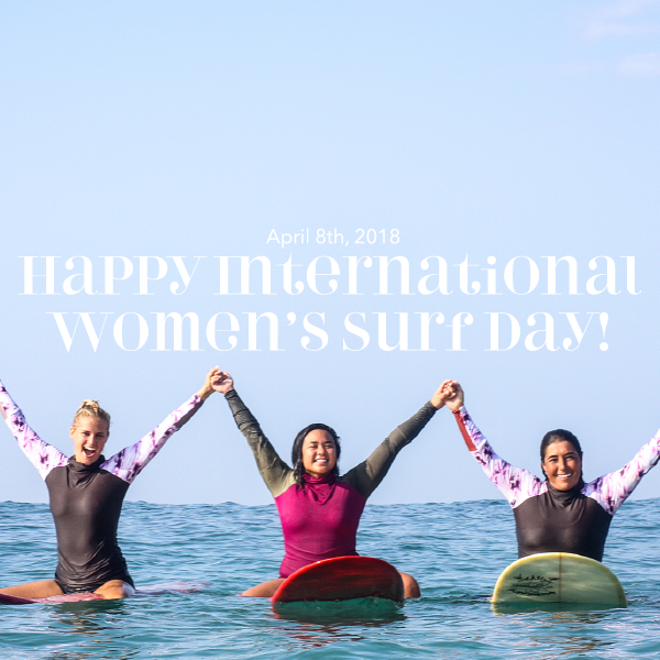 3 Female Surf Legends to celebrate on Intl Women's surf day (with video!)