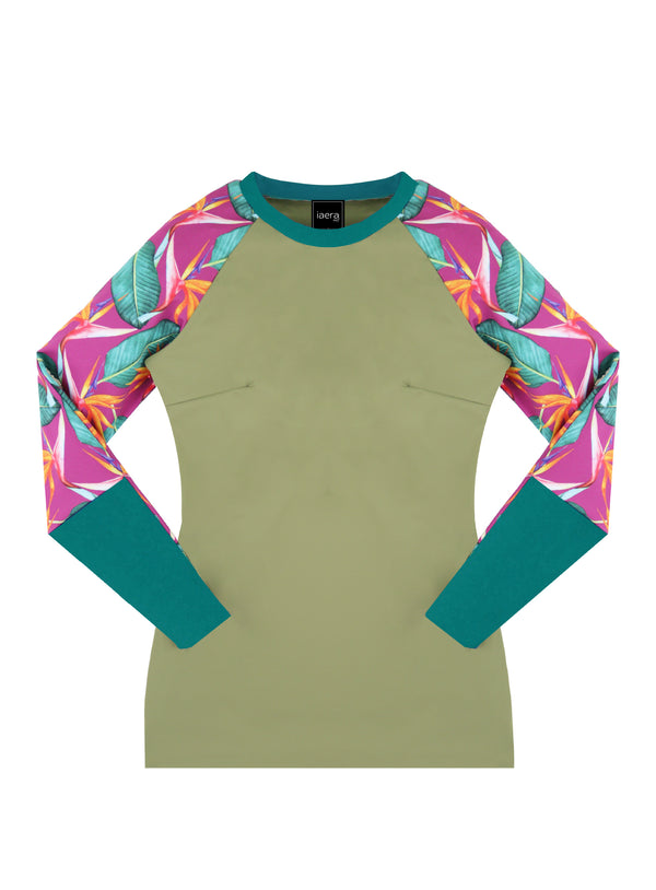 The TANI Rash Guard - Paradise