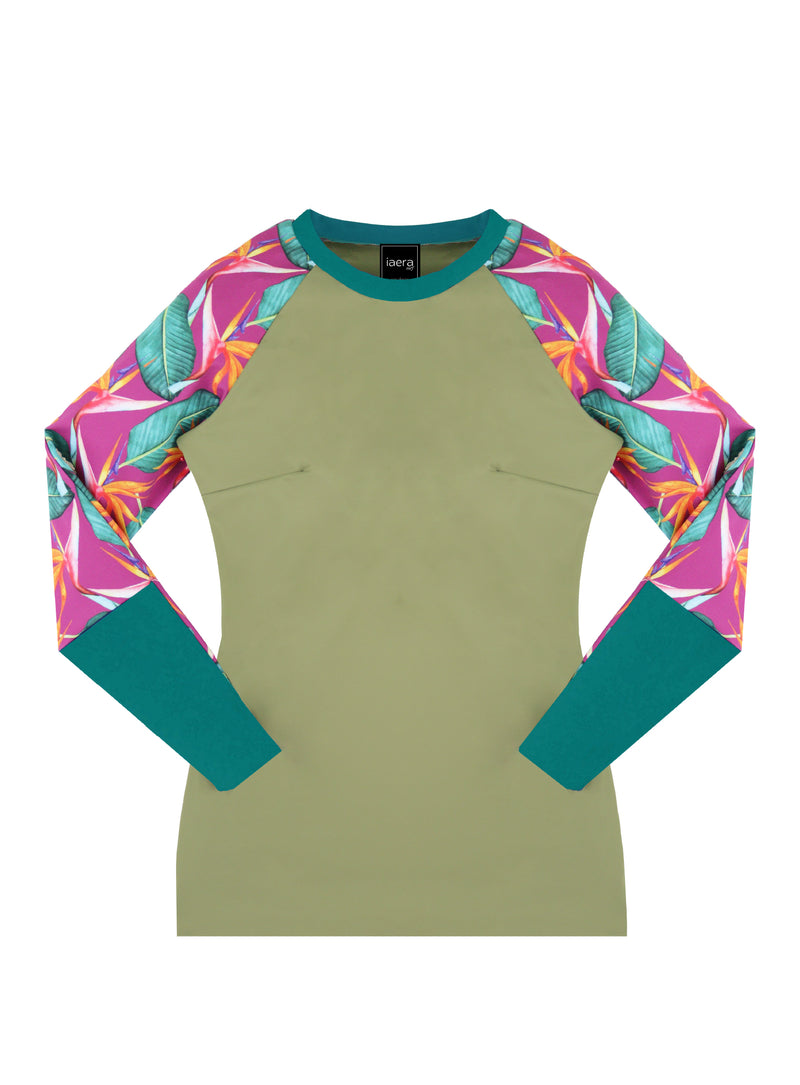 The TANI Rash Guard in Paradise