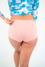 The NAVA Reversible Bikini Bottoms in Blue & Blush